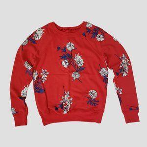 Flower Printed Sweatshirt